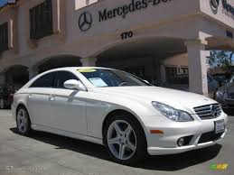 2008 Diamond White Metallic Mercedes-Benz CLS 550 Diamond White ...