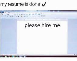 My resume: Please hire me