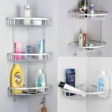 bathroom bathroom bath corner shelf tier shower rack organiser caddy storage bathroom bath corner shelf