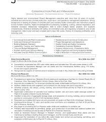 Examples Of Project Management Resumes Project Management Resume