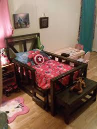 Pallet Bedroom Pallet Toddler Bed O Pallet Ideas O 1001 Pallets