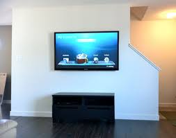 tv at glance wall mounting a flat screen magnificent