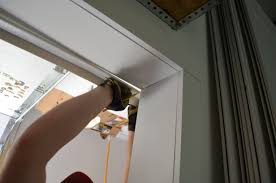 garage door weather stripping side and topHow to install garage door weather stripping  Garage Door Stuff