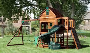 childrens outdoor swing sets wonderful playset plans design