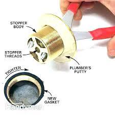 removing bathtub drain remove bathtub drain plug bathtub drain stopper bathroom sink stopper removal how to