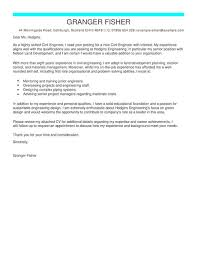 engineering cover letters civil engineer cover letter examples for engineering livecareer