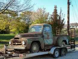 Rusty Old 1954 (?) R-110 Series International Pickup Truck… | Flickr