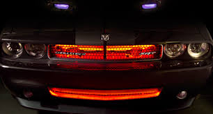 exterior led lighting car. grille - color changing weatherproof rgb led glow strip accent lighting kit: installed in the exterior led car 9