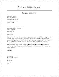 Sample Business Letters Format Sample Business Letter Format Brilliant Ideas Of Letters Examples