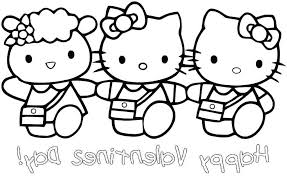 Hello Kitty Colouring Sheets Printable Hello Kitty Coloring Pages