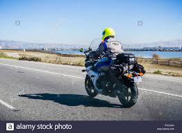 Lighting Menlo Park Ca November 7 2018 Menlo Park Ca Usa Motorcyclist