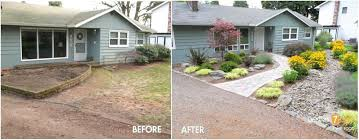 Front Yard Landscaping Ideas For Ranch Style Homes Landscape Unusual Simple
