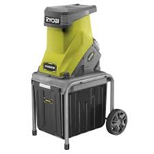 garden mulcher. Delighful Mulcher Ryobi 2400W Portable Electric Garden Impact Shredder Mulcher Wood Chipper On P
