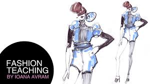 drawings fashion designs easy fashion design drawing youtube