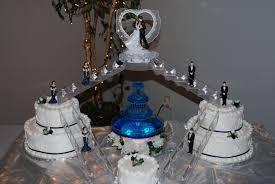 blue wedding cakes fountain. Plain Blue Bridge Wedding Cakes With Fountains  Bridge To Happiness And Blue Wedding Cakes Fountain