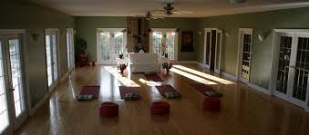 lotus heart retreat center yoga hall