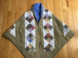 109 best Quilted hug project images on Pinterest | Prayer shawl ... & Quilted Shawl Adamdwight.com