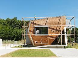 wooden office buildings. Office Off / Heri\u0026salli, © Paul Ott Wooden Buildings U