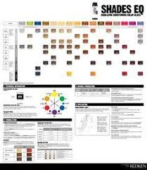 Redken Shades Eq Color Chart Haircolor Hairstyle