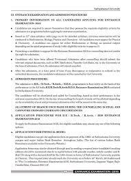 Sathyabama University Chennai Courses Fee Structure Results