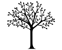 apple tree clipart black and white. awesome - a tree clipart black and white apple