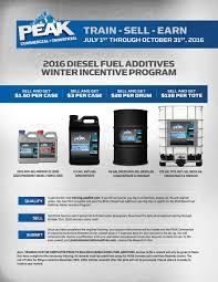 Incentive Flyer Peak C I Winter Diesel Fuel Additives Incentive Program Flyer