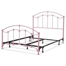 twin bed.  Bed Fashion Bed Group Amberley Kids Twin Metal In Pink Inside