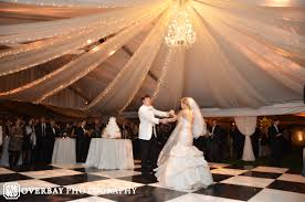 diy lighting wedding. Bride And Groom First Dance At Tennessee Wedding Reception With Draping Lighting Under Clear Tent Diy