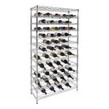chrome wine rack. Interesting Rack 108 Bottle 12Shelf Chrome Wine Rack And Storables