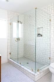 modern white tile shower. Perfect Tile White Tile Bathroom Shower Modern Glass Windows Covering Horizontal  Blind Tub Ideas Nice With Modern White Tile Shower
