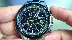 citizen blue angels world chrono a t eco drive atomic watch at8020 citizen blue angels world chrono a t eco drive atomic watch at8020 54l