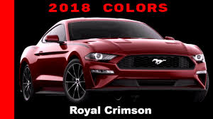 2018 ford color chart. perfect 2018 2018 ford mustang colors for ford color chart e