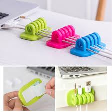 Cable Organizer Finishing The Desktop Plug Wire Retention Clips Snap Hub  Power Cord Winder Cable Management