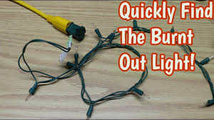 Finding Blown Christmas Lights Save Time Finding The Blown Christmas Light Bulb With This