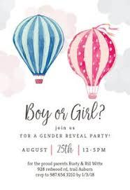 Gender Reveal Invitation Templates Free Greetings Island