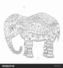 Free Printable Elephant Coloring Pages For Adults Great Elephants