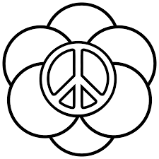 Small Picture Peace sign coloring page Coloring Pages Pictures IMAGIXS