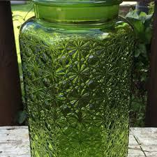 Large Decorative Glass Jars Best Green Glass Jars Vintage Products on Wanelo 71