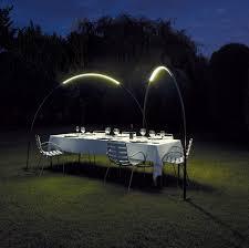 unique outdoor lighting ideas. Halley Produces An Arc Of Light For Outdoors Unique Outdoor Lighting Ideas A