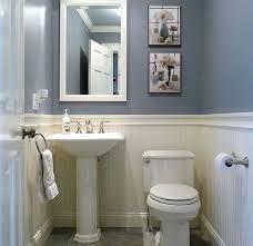 simple half bathroom designs. Interesting Half Dunstable Blue And White Half Bath  Interior Designs Pinterest Bathroom  Baths Intended Simple Bathroom S