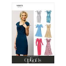 Vogue Patterns Dresses Simple Vogue Patterns V448 Size B448 4848484848 Misses' Misses' Petite