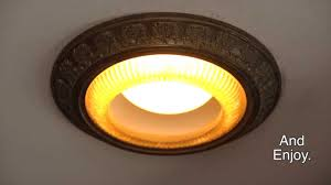 Decorative Rings For Recessed Lighting Trim Ring Instulation Plow Hearth