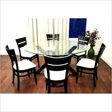 round glass dining table and 6 chairs round kitchen table seats 6 glass dining table for