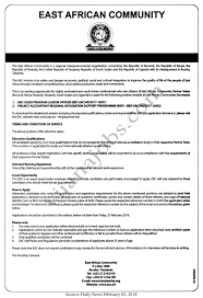 Eac Usaid Program Liaison Officer Project Accountant Tayoa