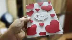 Wedding Anniversary Greeting Card Designs How To Make Greeting Cards Diy Anniversary Card Ideas