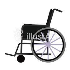 車椅子イラスト No 1072546無料イラストならイラストac