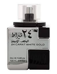 Buy <b>Lattafa 24 Carat White</b> Gold Perfume (100 ml) Online at Low ...