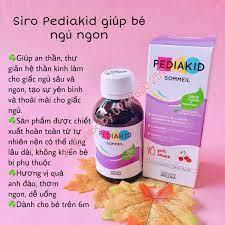 Siro Pediakid giúp bé ngủ ngon (>6m) | Vitamin,Thực phẩm chức năng