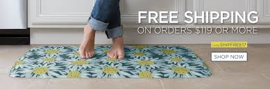 Gel Floor Mats For Kitchen Kitchen Floor Mats For Comfort The Ultimate Anti Fatigue Floor