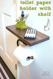 toilet paper holder diy toilet paper holder with shelf tutorial showoff toilet paper dispenser diy